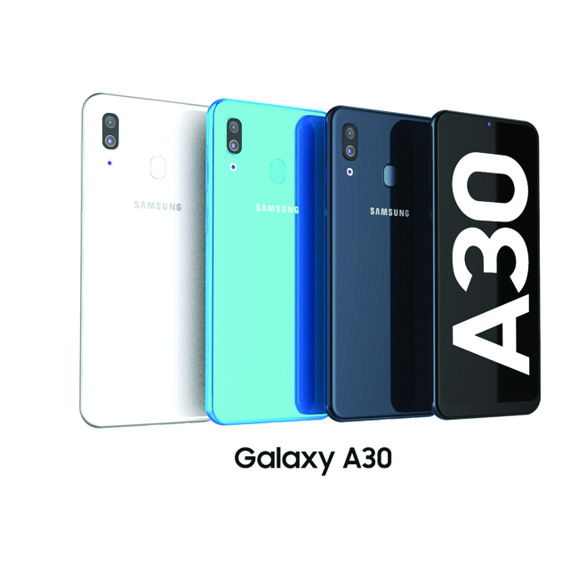 گوشی موبایل سامسونگ گلکسی A30 ظرفیت 64 گیگابایت