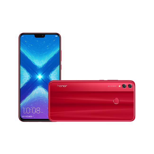 گوشی موبایل آنر 8 ایکس قرمز – Honor 8X Red