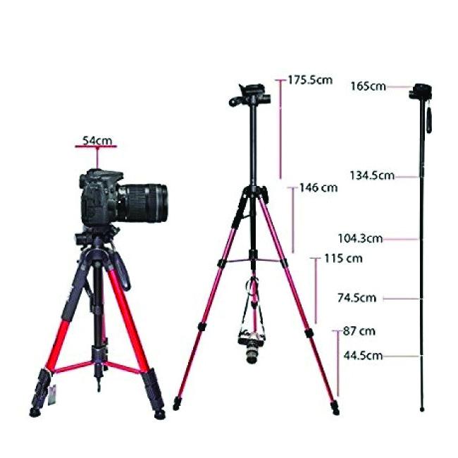 سه پایه عکاسی جیماری KP-2234 8