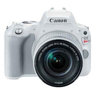 250d 18 55stm white frontopen lens