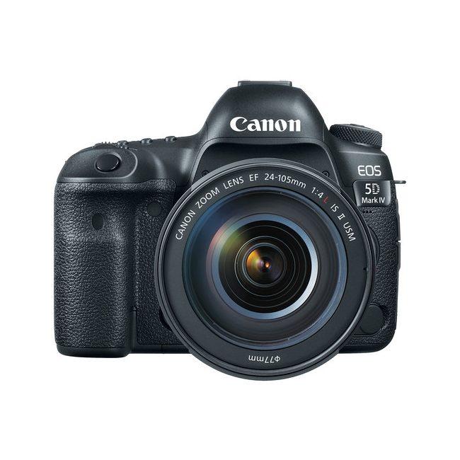 دوربین عکاسی کانن 5D IV با لنز 24-105 میلی متر F4 L IS II USM