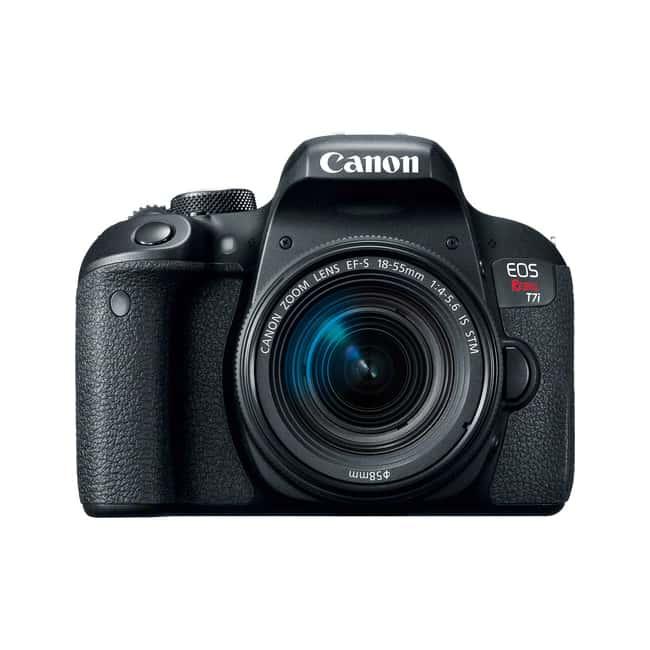 دوربین Canon EOS 800D با لنز 18-55