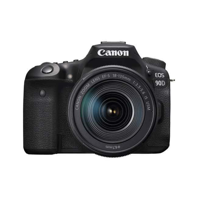 دوربین عکاسی Canon EOS 90D با لنز 18-135