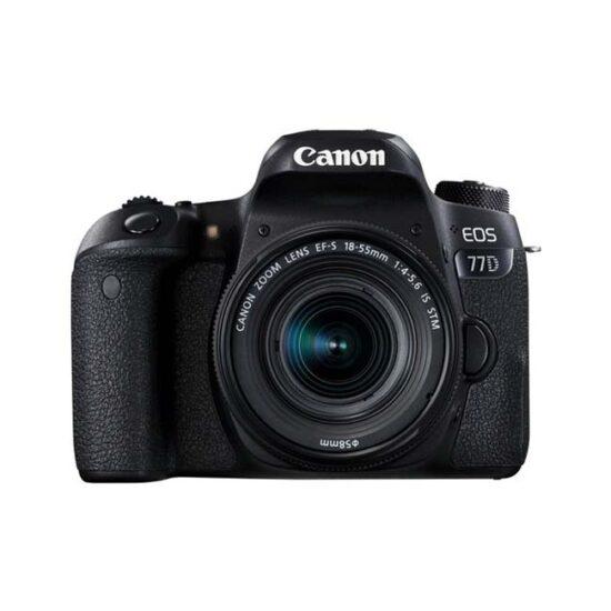 دوربین دیجیتال کانن Canon 77D با لنز 18-55 STM