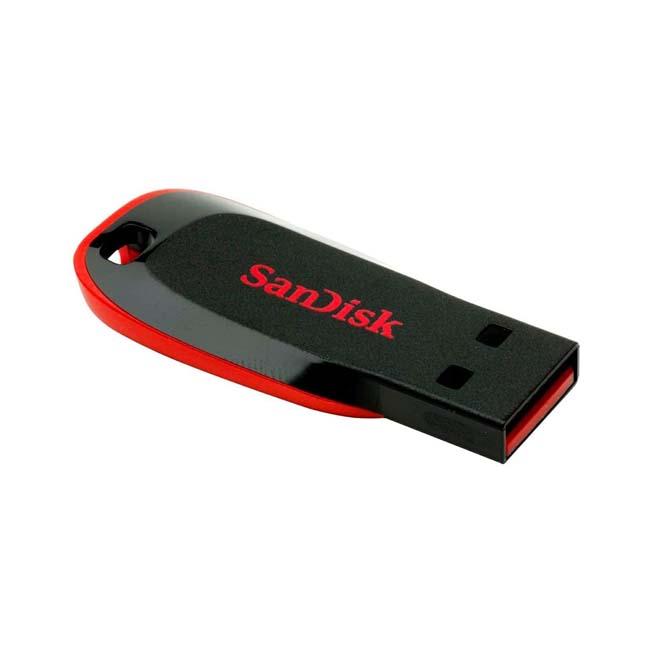 فلش مموری سندیسک SanDisk 8GB Cruzer Blade USB 2.0 Flash Drive SDCZ50-008GB