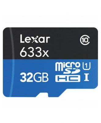 کارت حافظه لکسار 95MBps 633X micro 32g