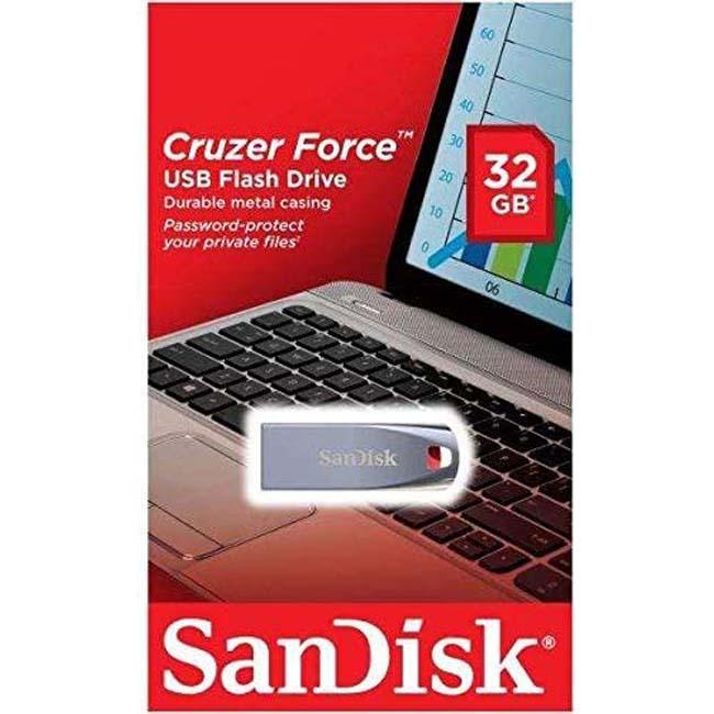فلش مموری سندیسک SanDisk 16GB Cruzer Force Flash Drive USB 2.0 SDCZ71-016GB