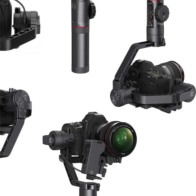 گیمبال لرزشگیر ژیون کرین 2 برای دوربین های بدون آینه و DSLR 5