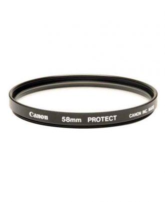 فیلتر لنز دوربین مدل Canon UV 58mm Screw-in Filter