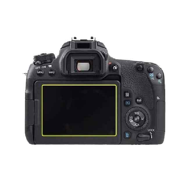 محافظ ال سی دی برای دوربین عکاسی کانن Canon EOS 77D Screen Protector 1