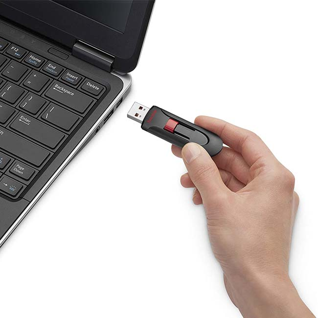 فلش مموری سندیسک SanDisk 16GB Cruzer Glide CZ60 USB 3.0 Flash Drive SDCZ60-16GB