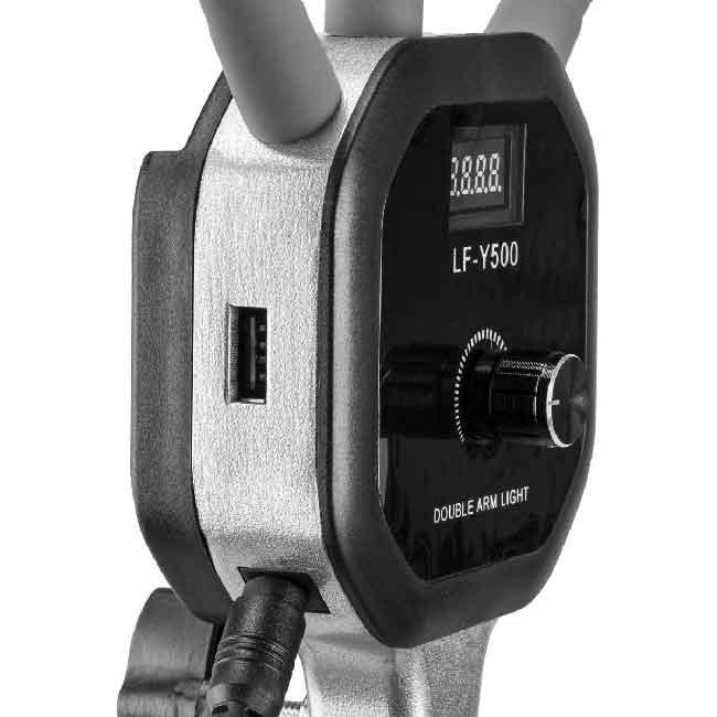 نور ال ای دی LF-Y500 دو بازو 6