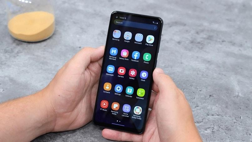 صفحه نمایش گوشی موبایل سامسونگ A21S