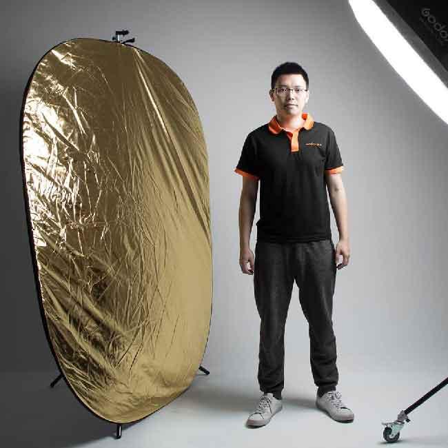 رفلکتور گودکس 150x200 سانتی متر قابل حمل پنج تیکه