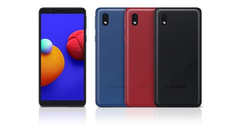 طراحی گوشی موبایل سامسونگ A01 Core