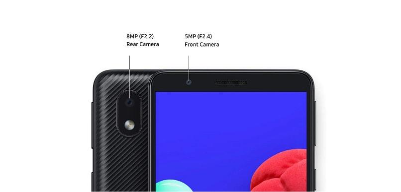 دوربین گوشی موبایل سامسونگ A01 Core