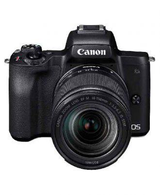 دوربین دیجیتال بدون آینه کانن M50 با لنز 150-18 میلی متر