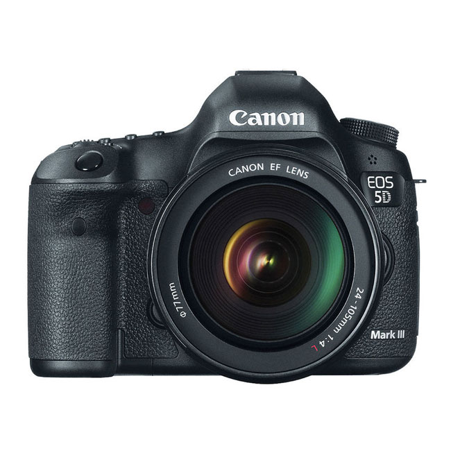 دوربین دیجیتال کانن 5D Mark III با لنز 24-105 میلی متر F/4L IS USM 1