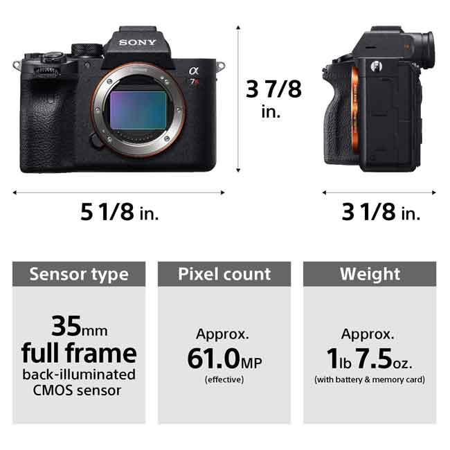 دوربین بدون آینه سونی Alpha a7R IV فقط بدنه 2