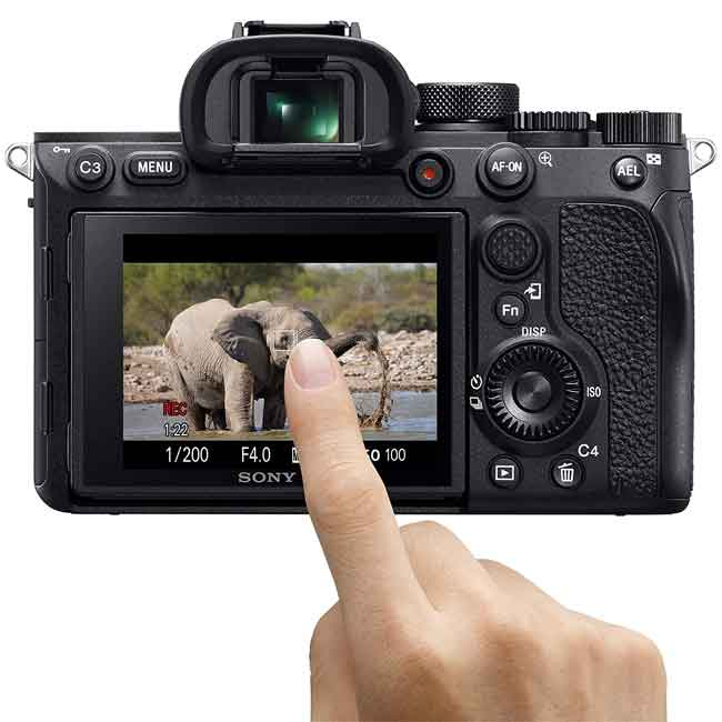 دوربین بدون آینه سونی Alpha a7R IV فقط بدنه 9
