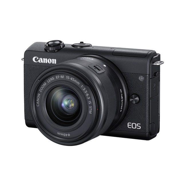 دوربین دیجیتال بدون آینه کانن M200 با لنز 15-45 میلی متر