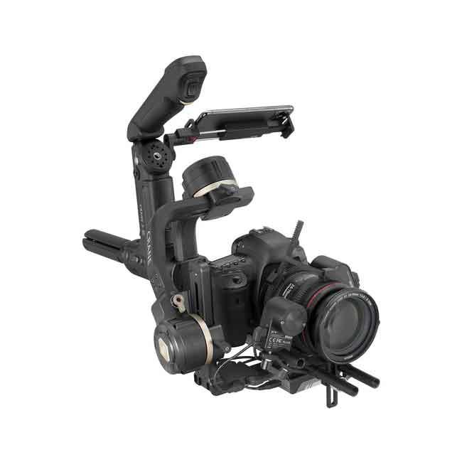 لرزشگیر ژیون-تک کرین 3S برای دوربین های بدون آینه و DSLR 11