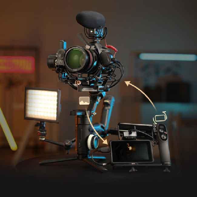 لرزشگیر ژیون-تک کرین 3S برای دوربین های بدون آینه و DSLR 23