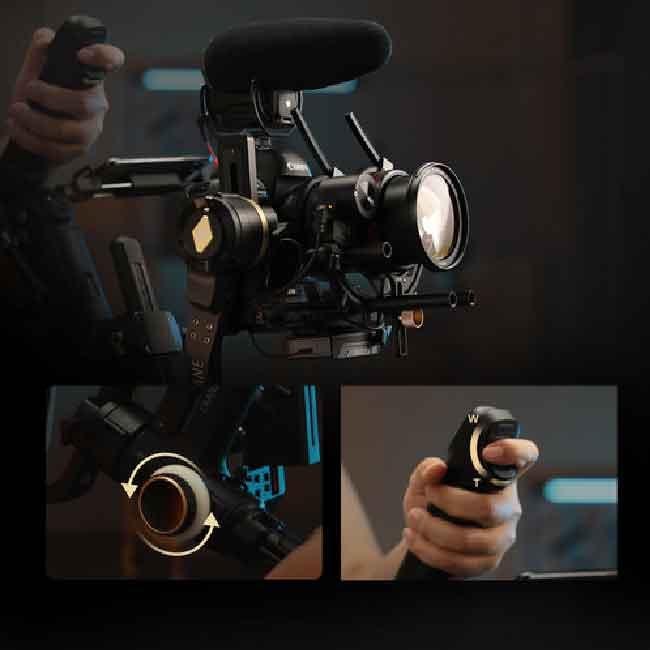 لرزشگیر ژیون-تک کرین 3S برای دوربین های بدون آینه و DSLR 25