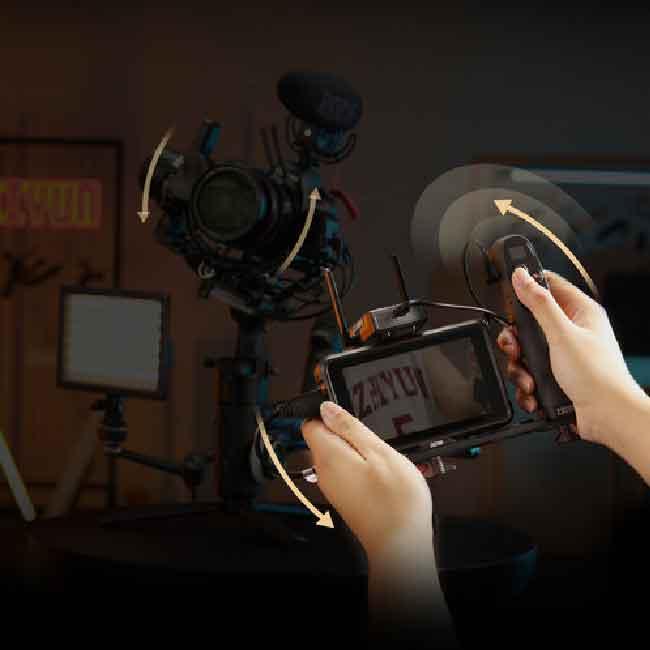 لرزشگیر ژیون-تک کرین 3S برای دوربین های بدون آینه و DSLR 26