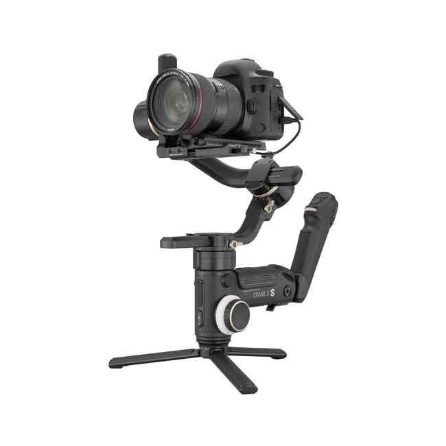 لرزشگیر ژیون-تک کرین 3S برای دوربین های بدون آینه و DSLR 7