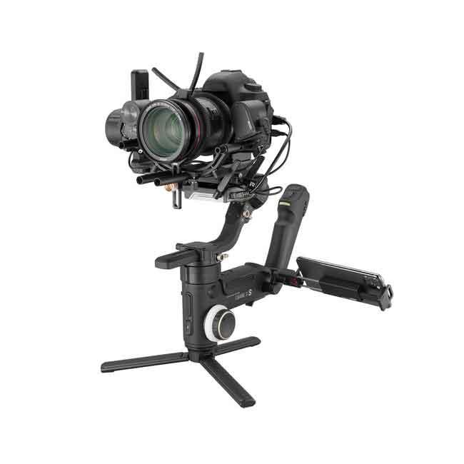 لرزشگیر ژیون-تک کرین 3S برای دوربین های بدون آینه و DSLR 9