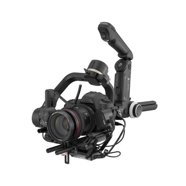 لرزشگیر ژیون-تک کرین 3S برای دوربین های بدون آینه و DSLR 10