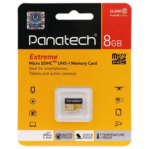 کارت حافظه microSDHC پاناتک کلاس 10  ظرفیت 8 گیگابایت 1